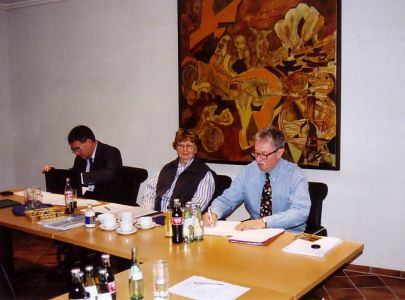 1997: Arbeitsbesprechung des VFM