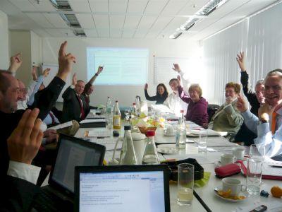 2008: Mitgliederversammlung des alten VFM und des sich konstituierenden vfm in Mainz