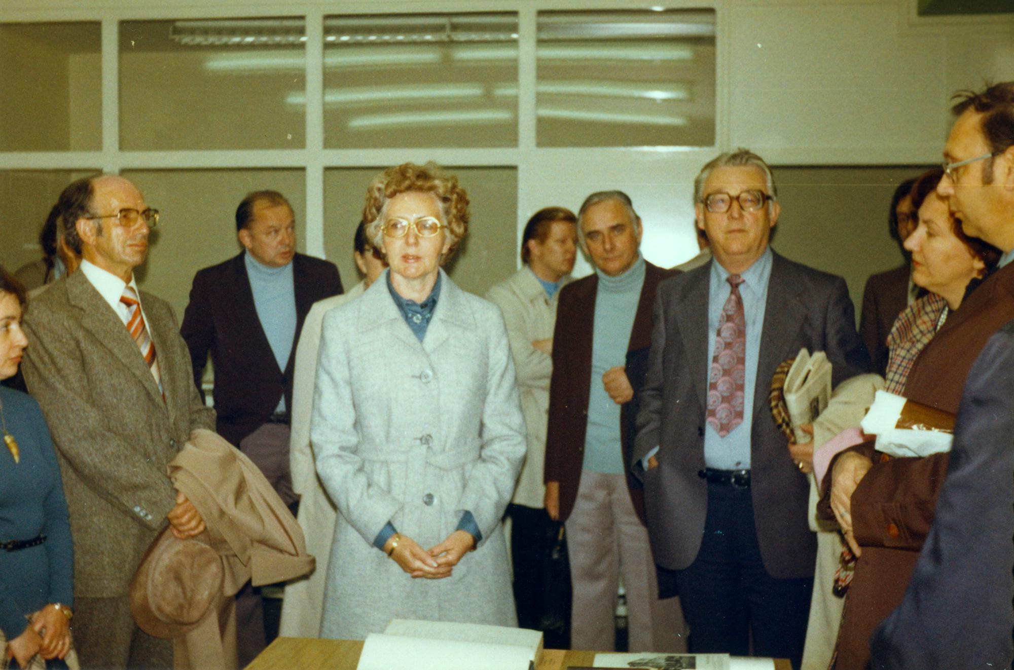 Marianne Englert 1977 in Essen