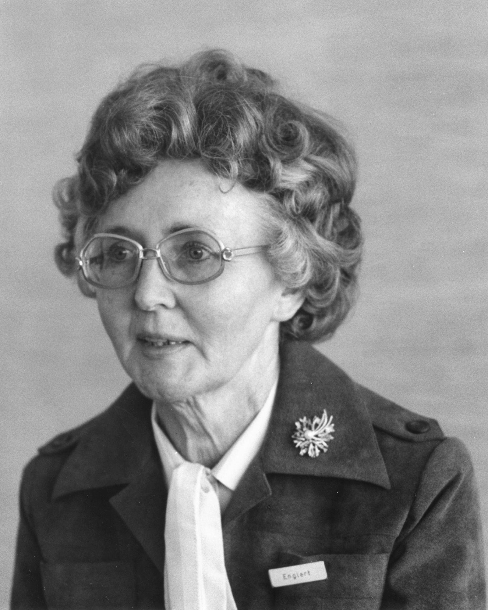 Marianne Englert 1979 in Baden-Baden