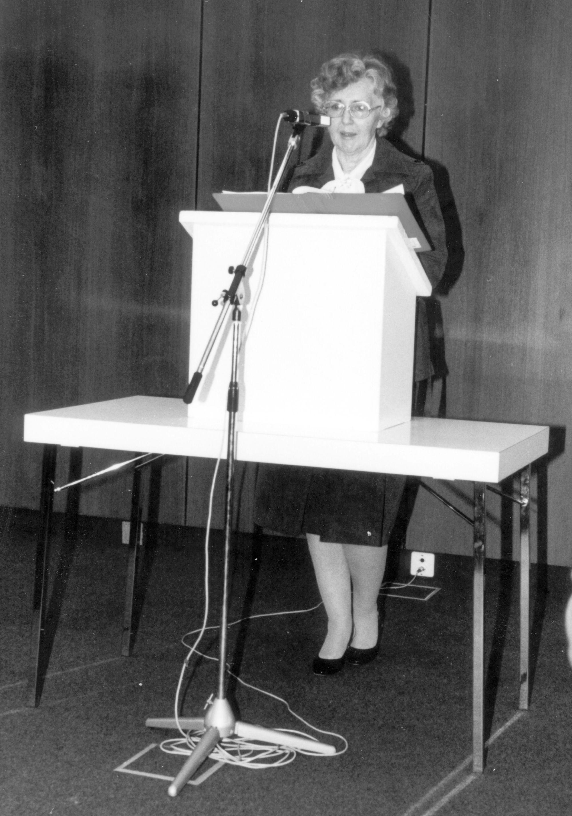 Marianne Englert 1981 in Kassel