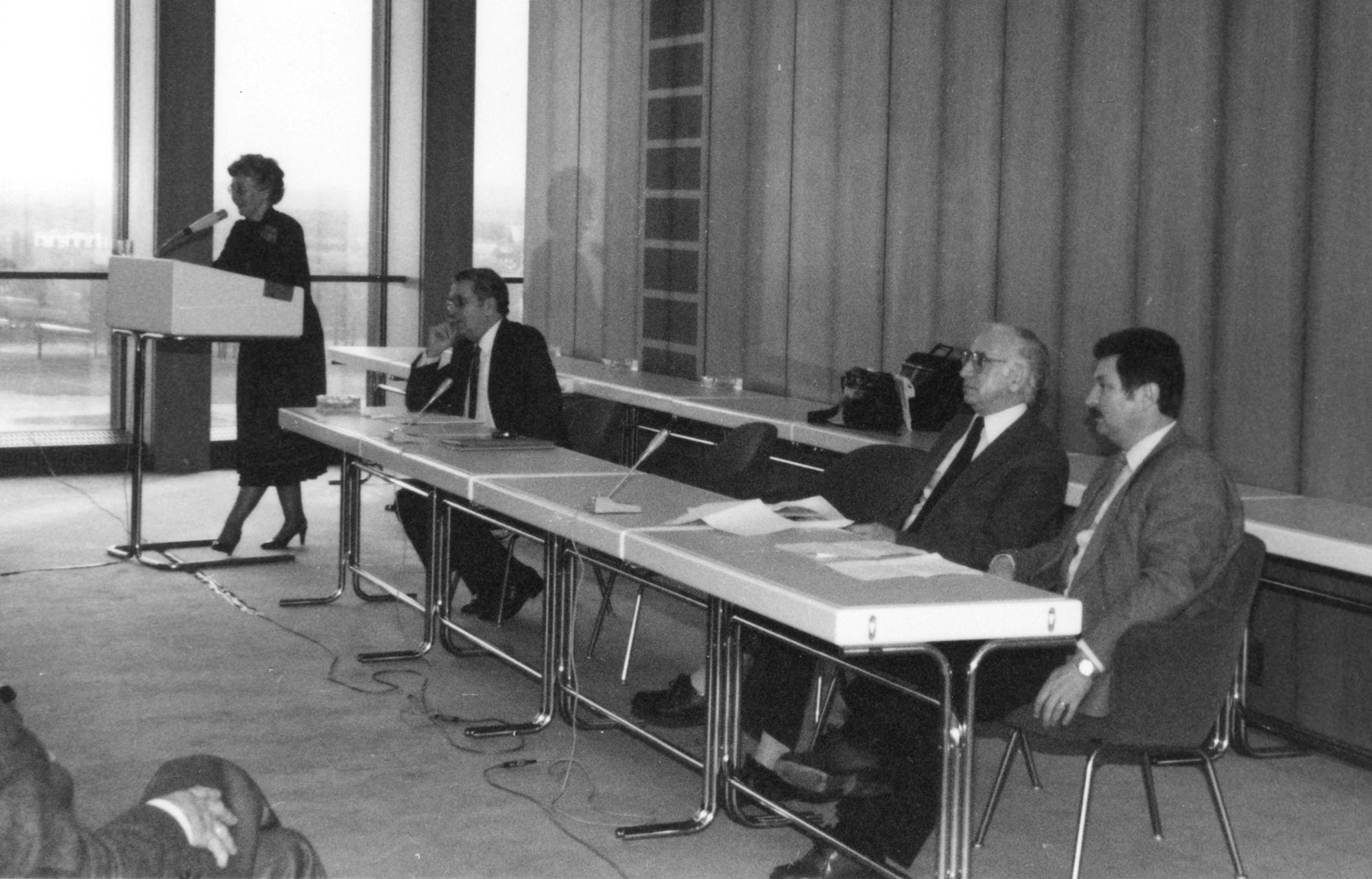 Marianne Englert 1982 in Köln beim WDR (Marianne Englert NN Seeberg-Elverfeld Heiner Schmitt)