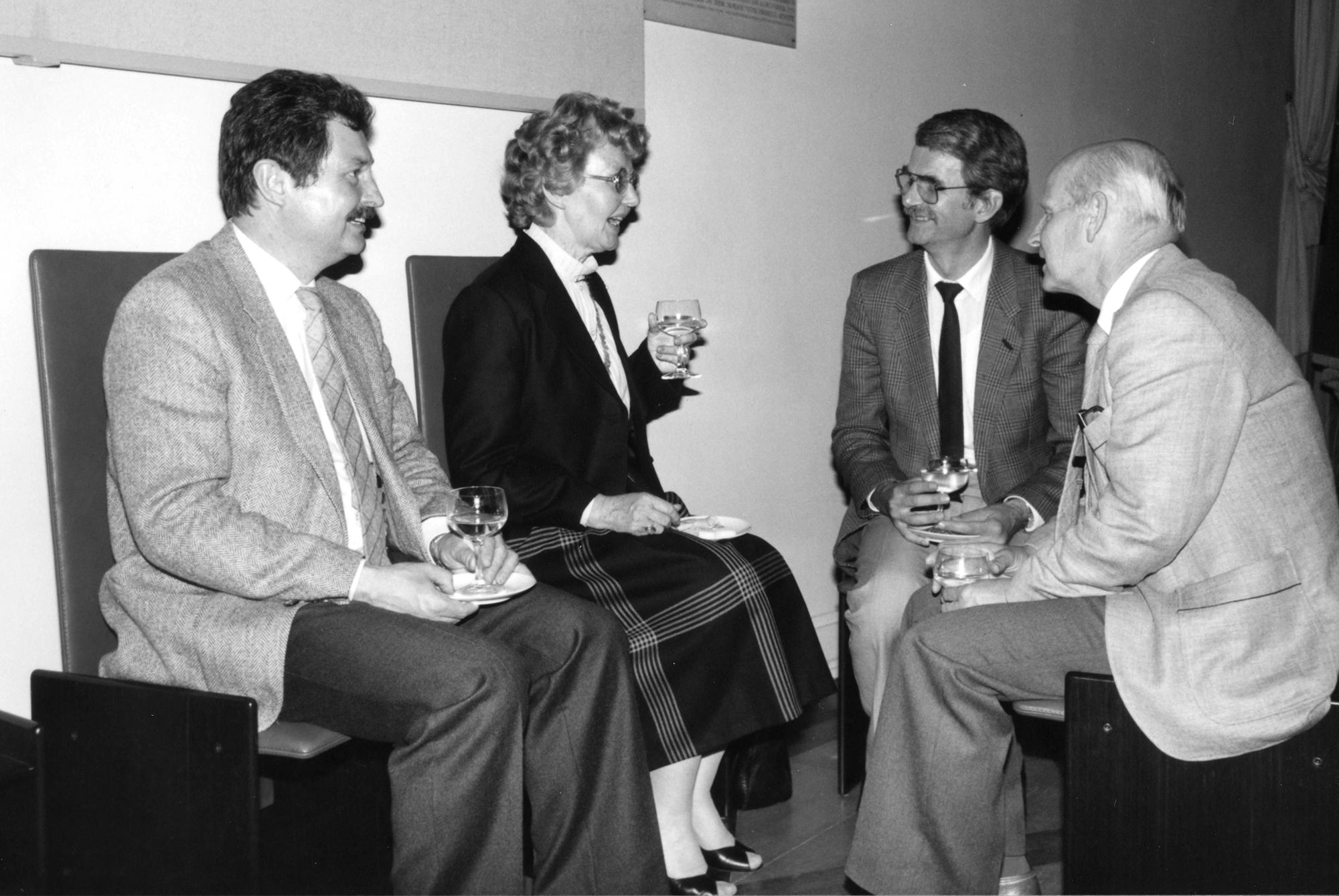 Marianne Englert 1984 in Frankfurt (Schmitt Englert Nürnberger Munzinger)
