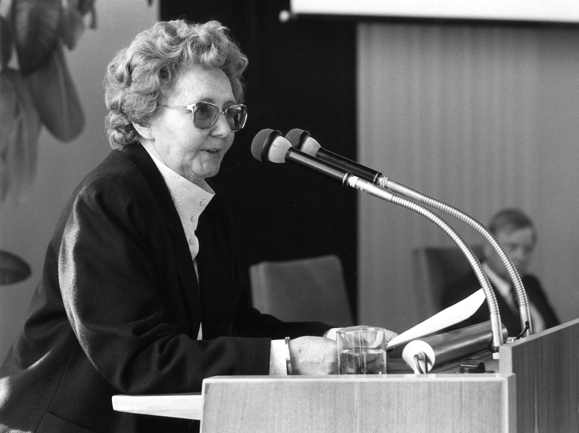 Marianne Englert 1988 in Stuttgart