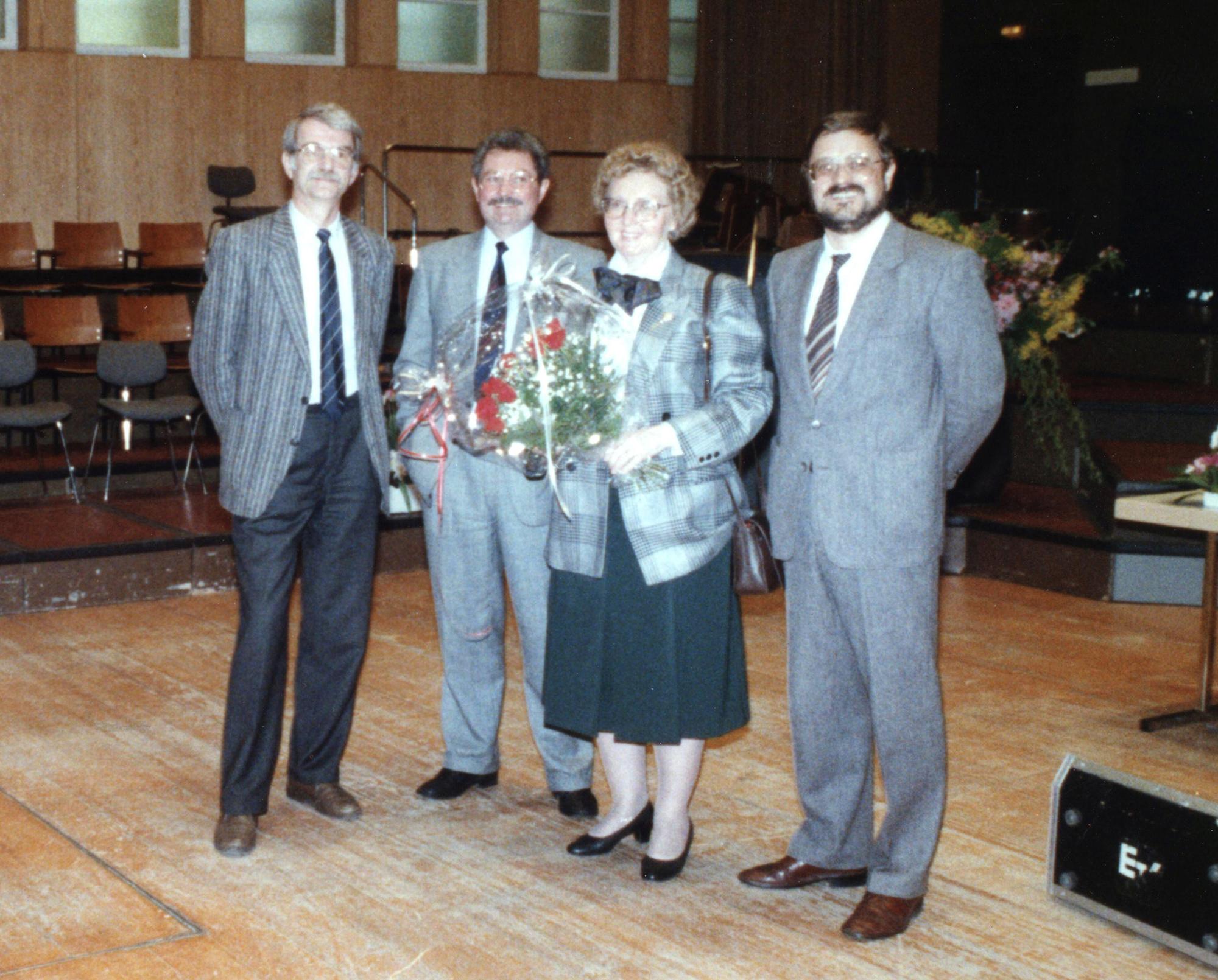 Marianne Englert 1989 in Hamburg (NN Schmitt Englert Lange)