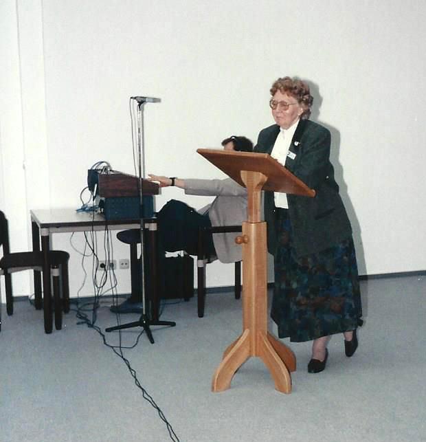 Marianne Englert 1990 in Wiesbaden