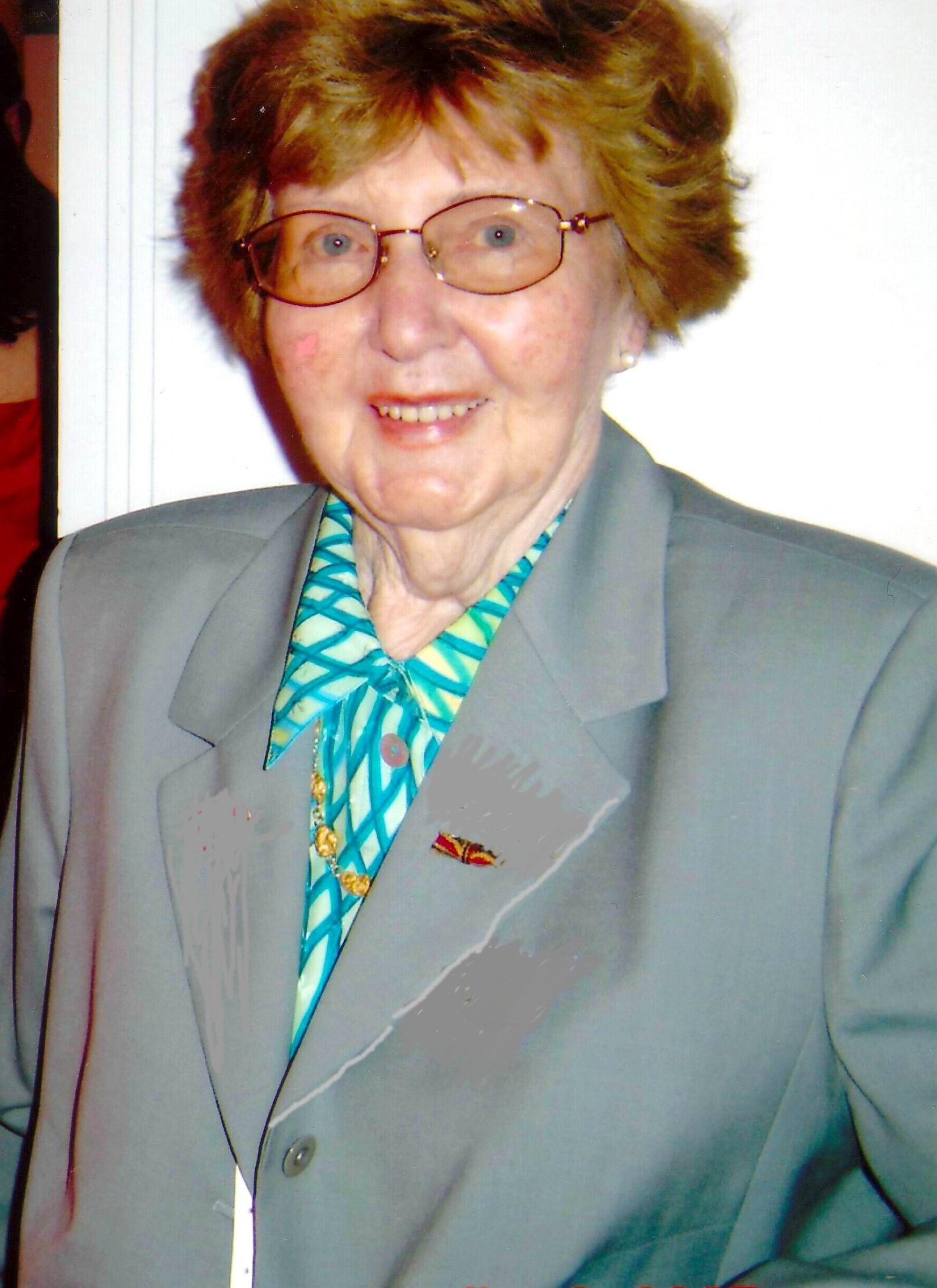 Marianne Englert 2005 in Hamburg