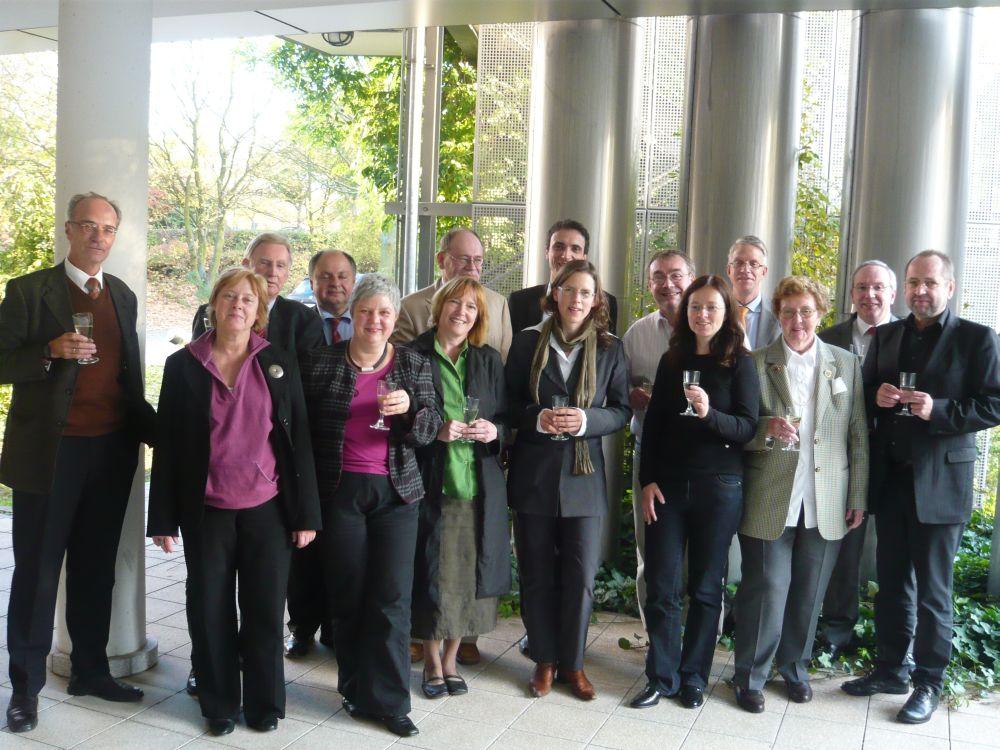 2008 Sitzung zur Umgestaltung des vfm