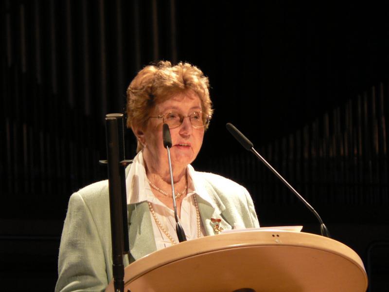 Marianne Englert 2009 in Frankfurt
